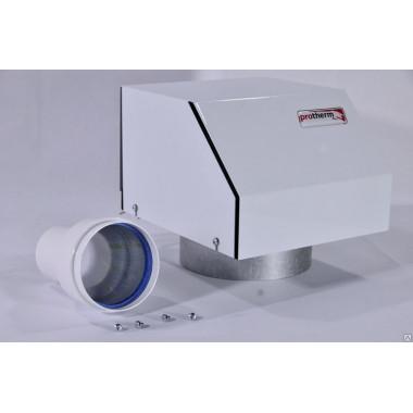 Установка и подключение турбонадставки к котлу Protherm klom 17